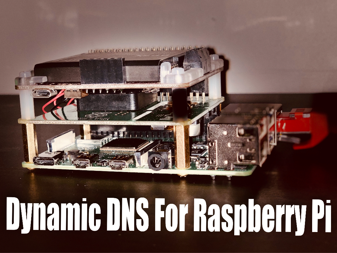 PynamicDNS - Dynamic DNS With Raspberry Pi, Python and AWS