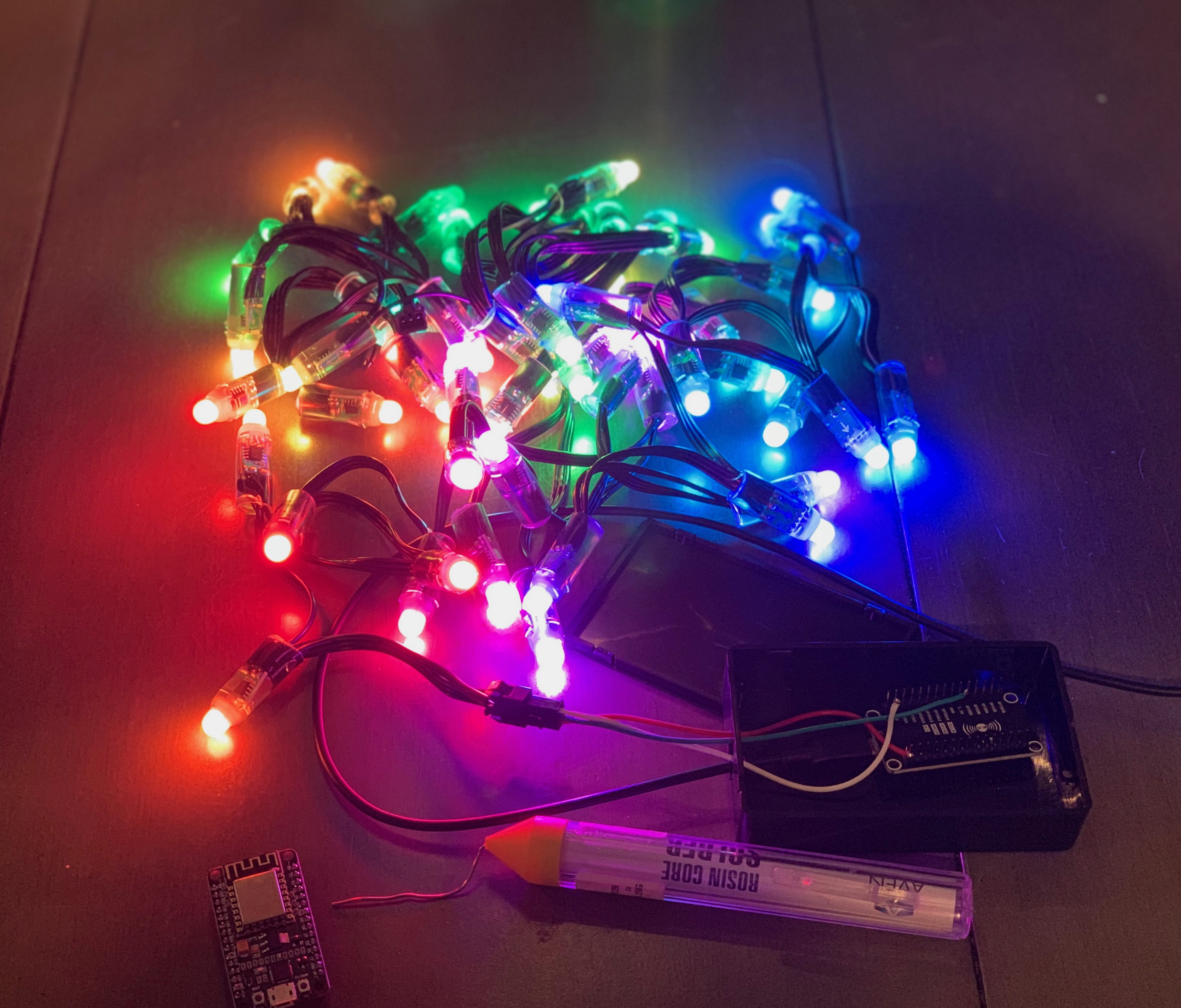 Testing WLED and WS2811 LEDs