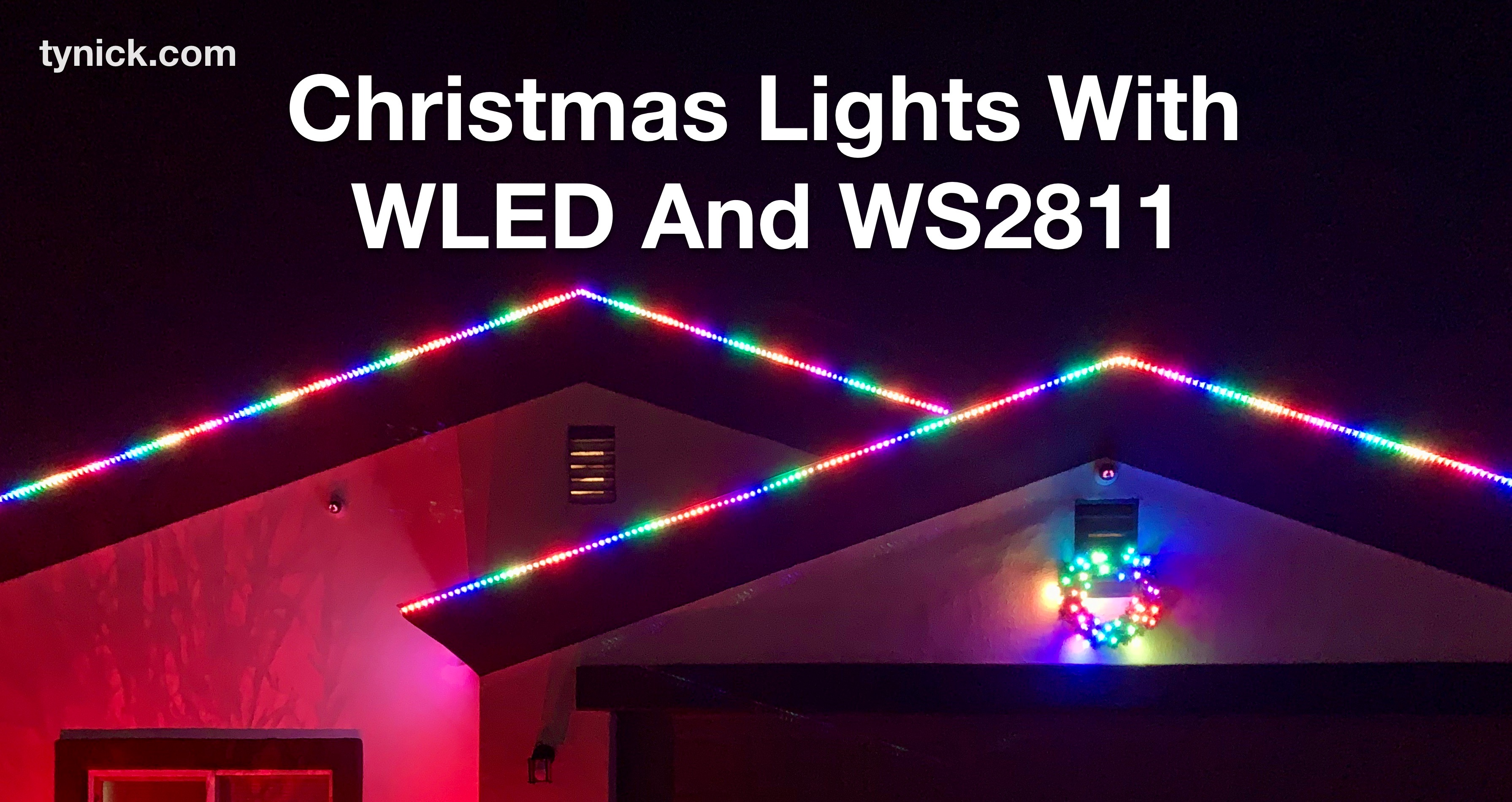 Christmas Lights With WLED